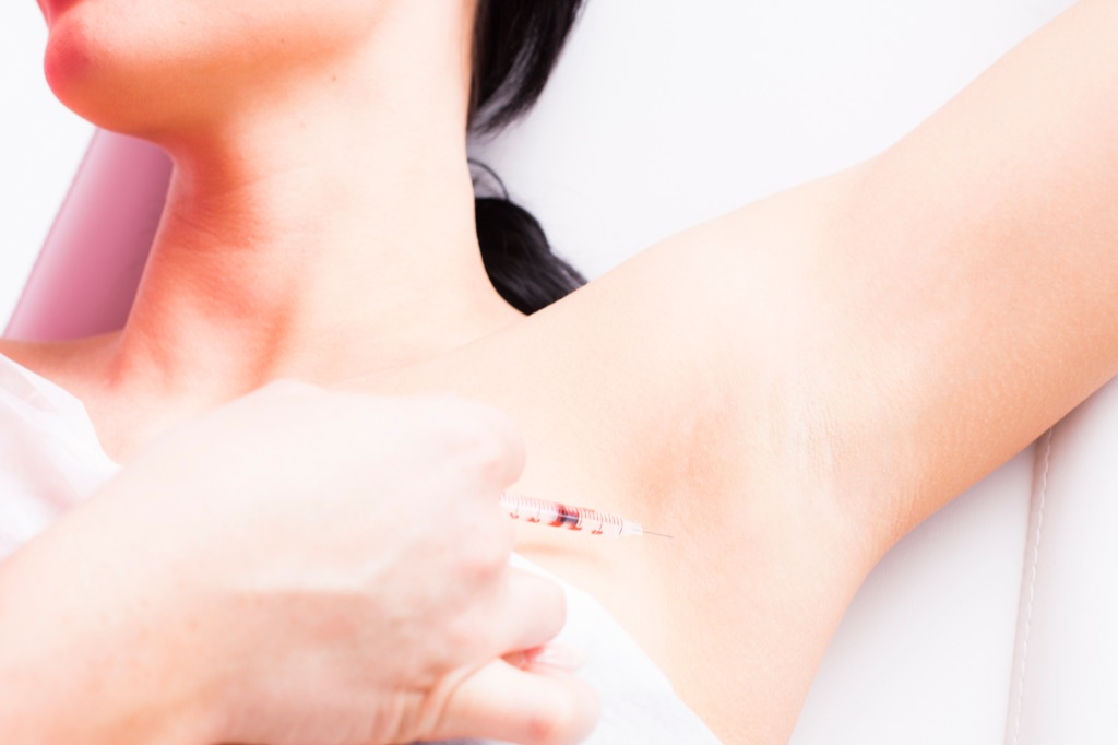 Botox Injection in Armpits Summer