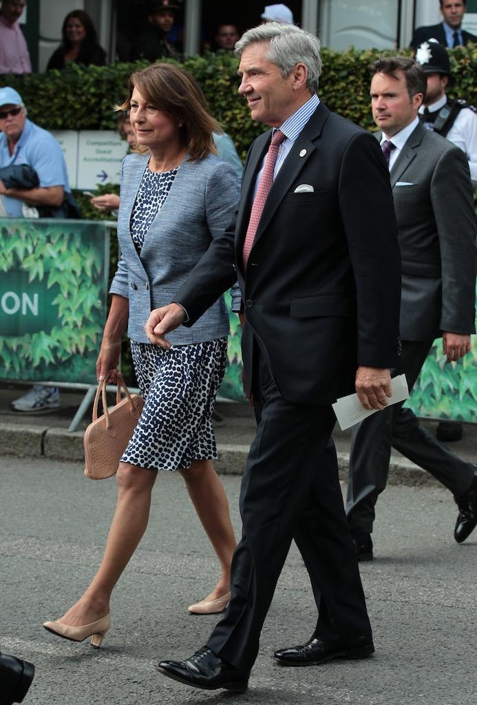 Carole and Michael Middleton Kate Middleton