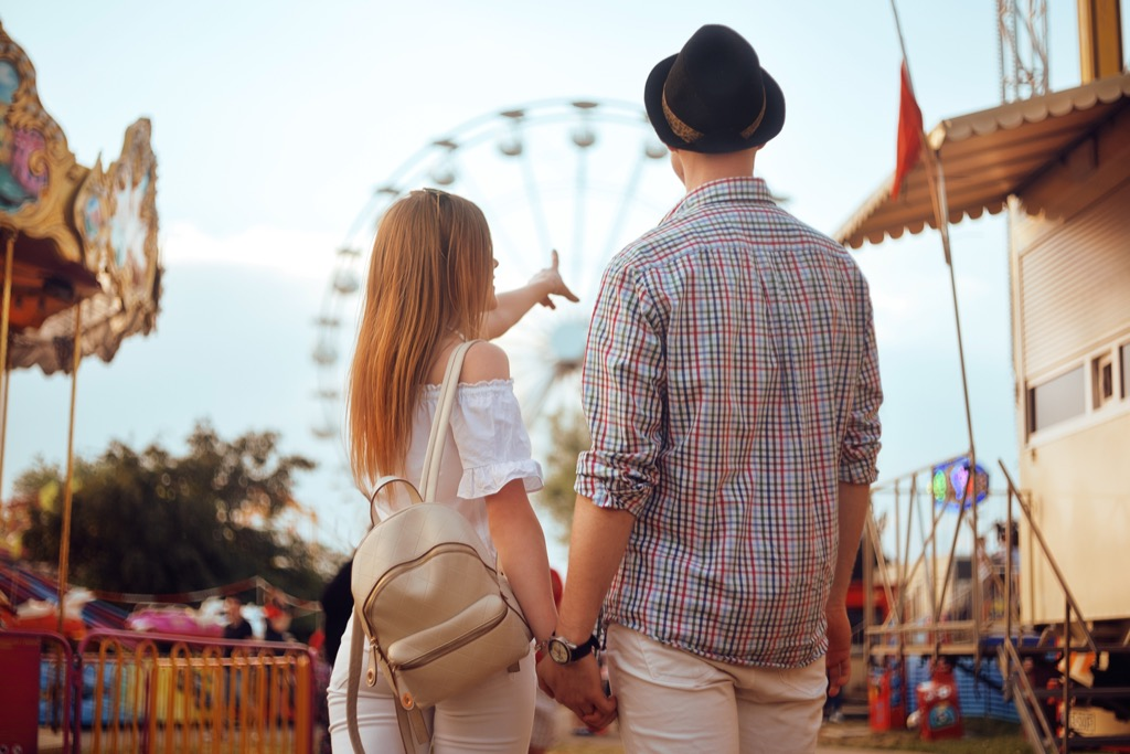 Couple at State Summer Fair