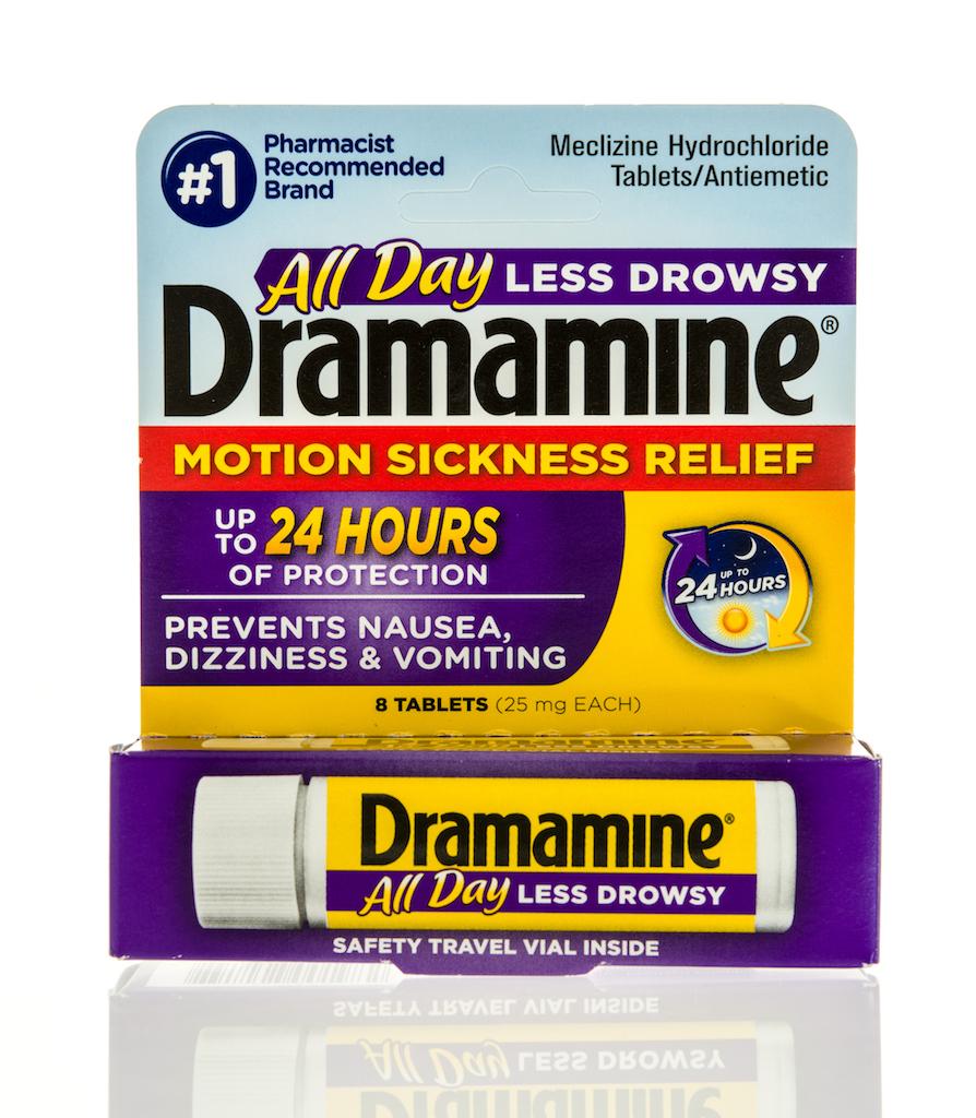 Dramamine mixing alcohol