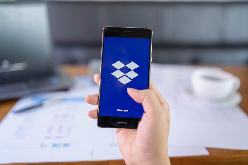 Dropbox Apps organizer apps