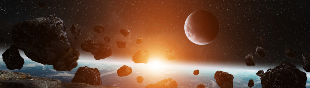 Earth and Asteroids Planet Earth Facts