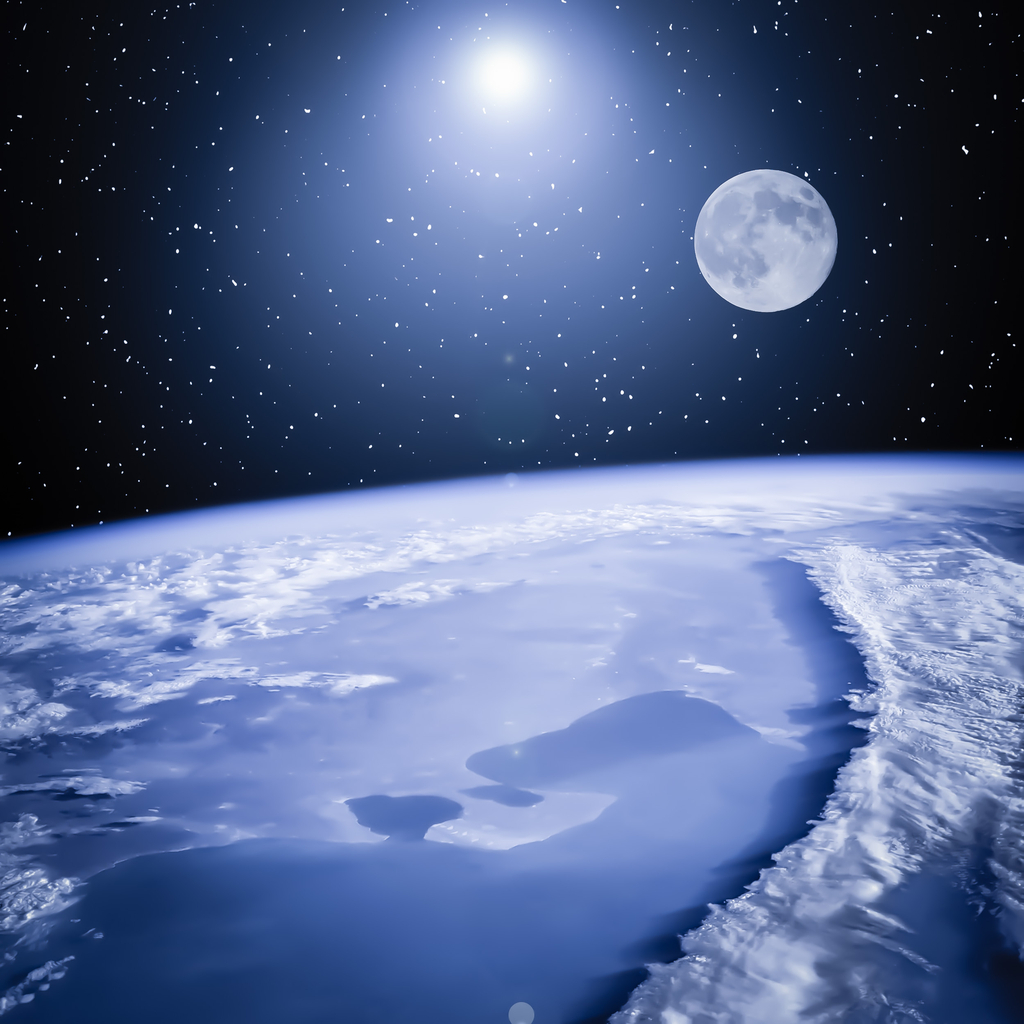 Earth and Moon Planet Earth Facts