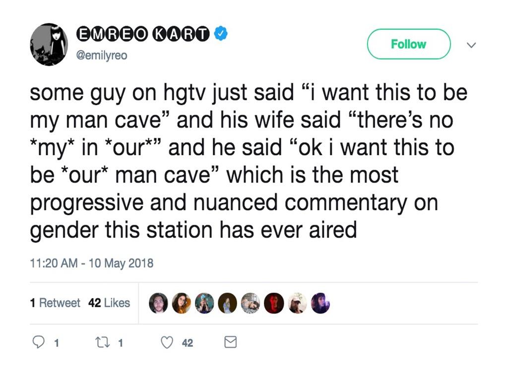 Man cave funniest home design show jokes