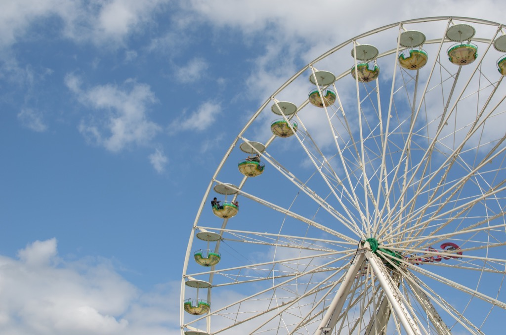 Ferris Wheel Summer Fair
