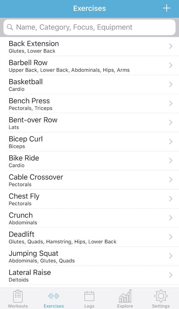 Fit Notes Apps organizer apps