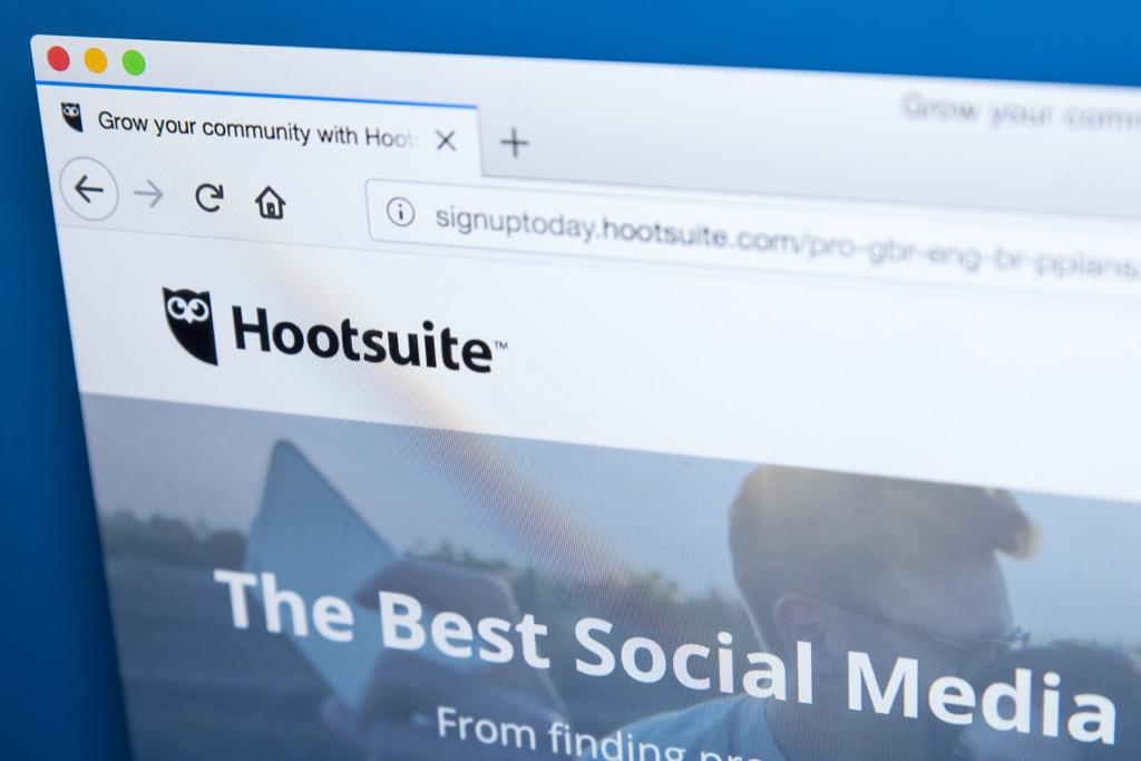 HootSuite Apps organizer apps