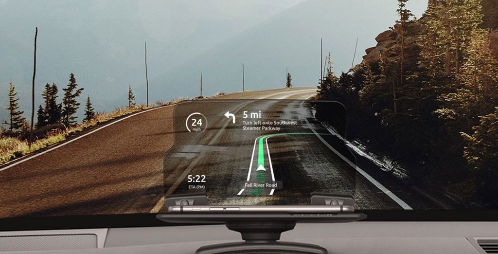 Augmented reality driving app