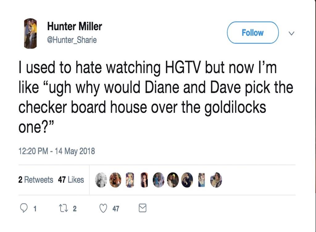 House hunters funniest home design show jokes
