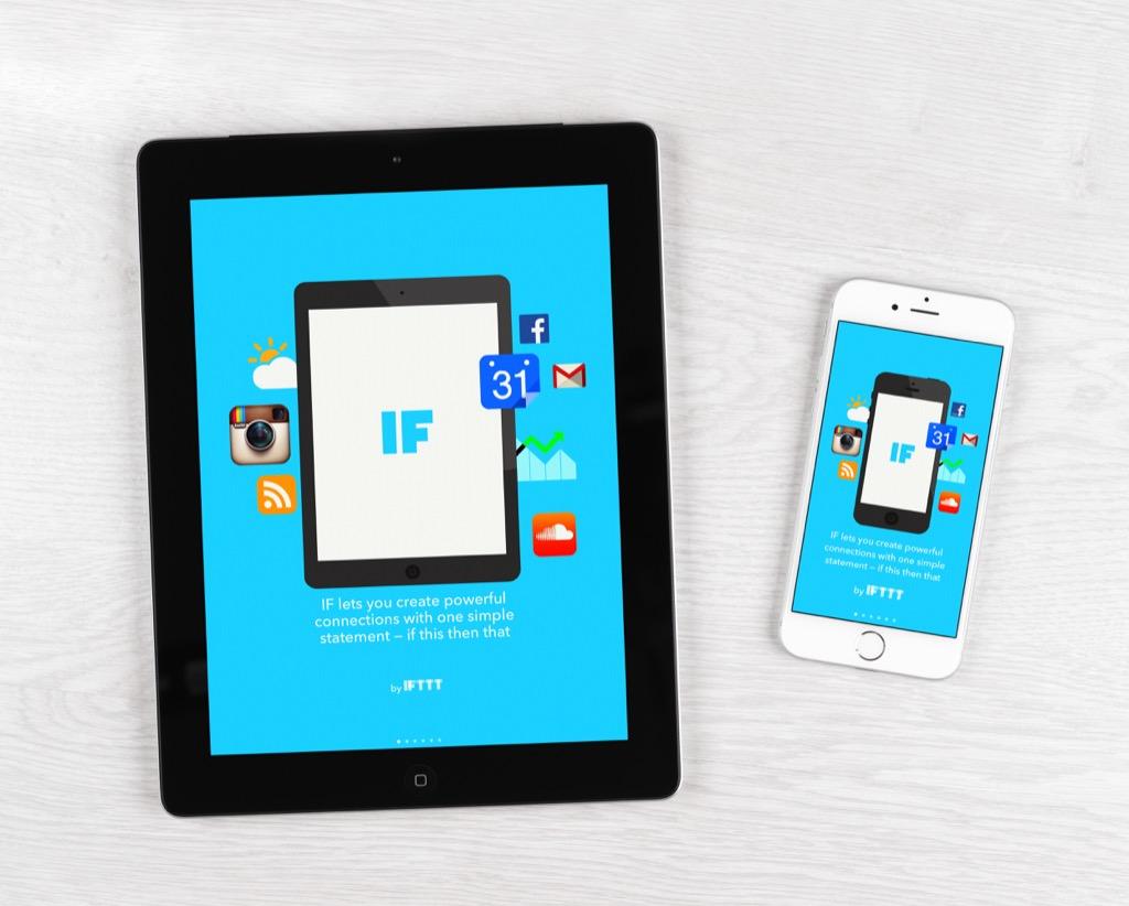 Ifttt Apps organizer apps