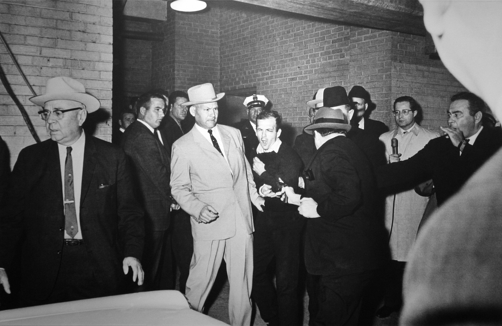 Jack Ruby Shooting Lee Harvey Oswald Kennedys