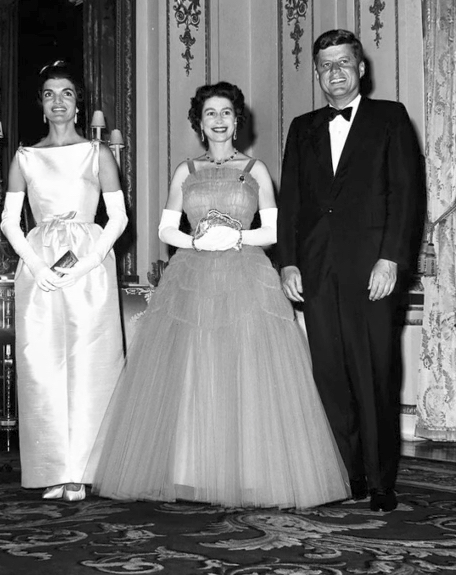 Jackie Kennedy and Queen Elizabeth Kennedys