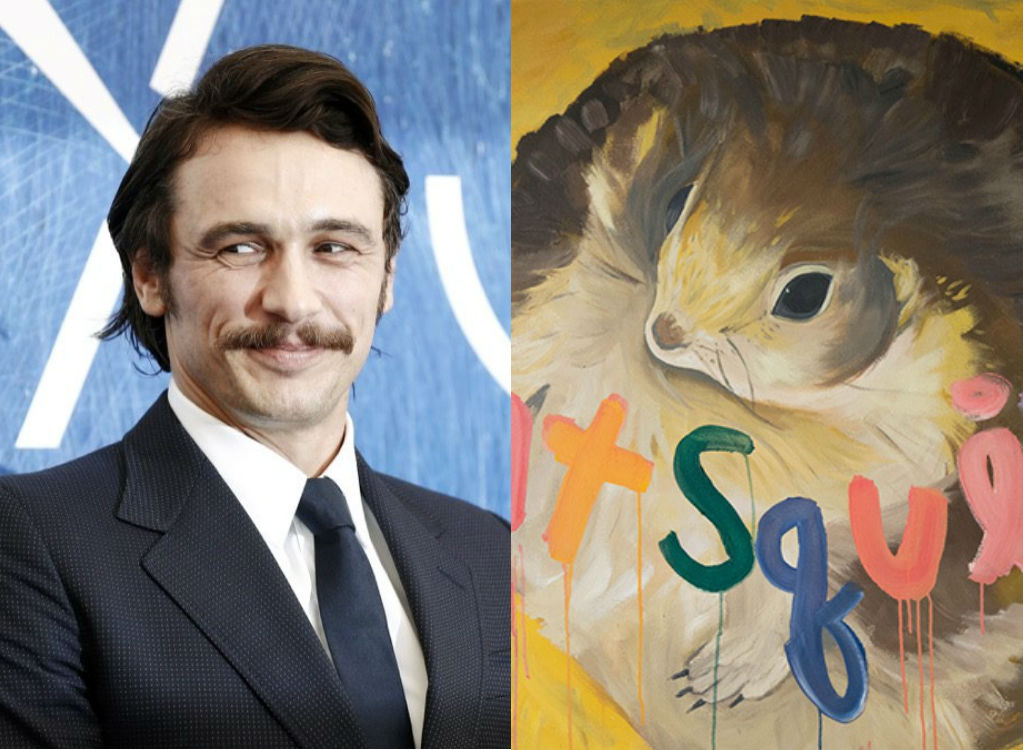 James Franco Painting