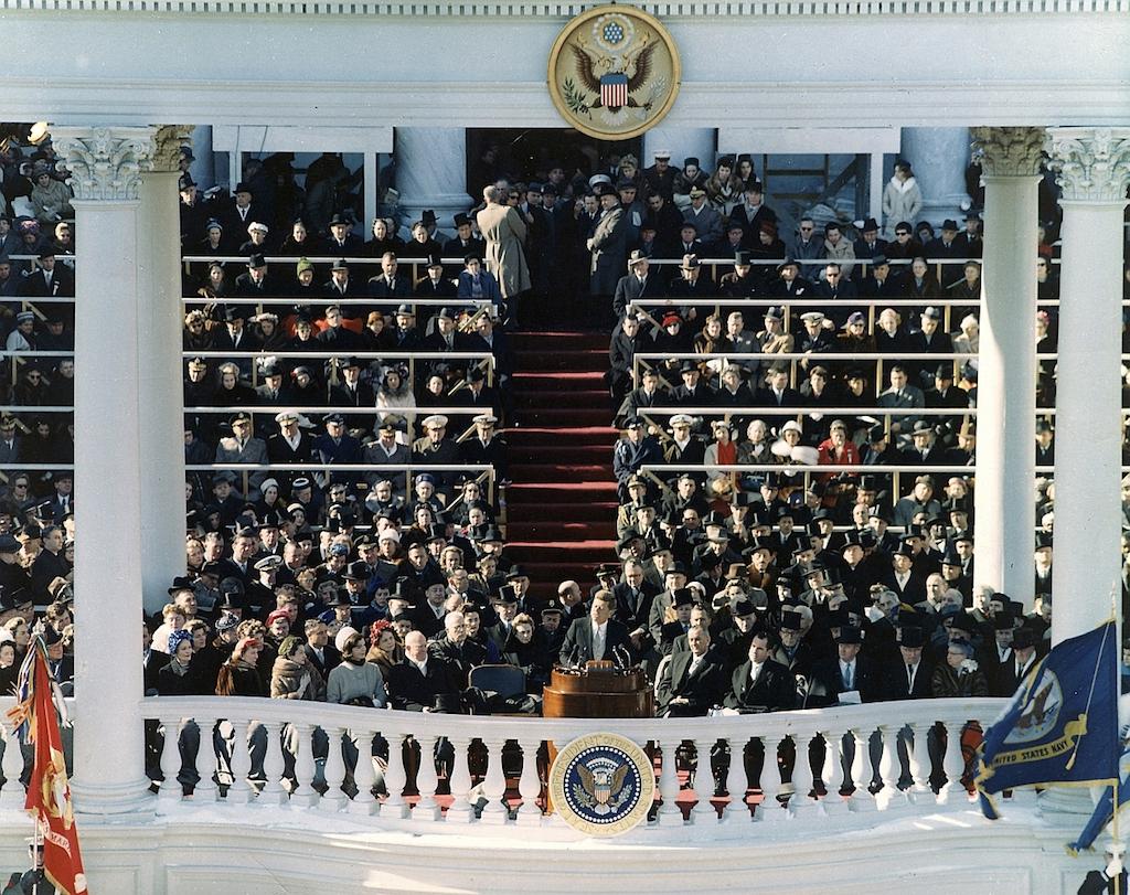 John F Kennedy Inaugural Address Kennedys