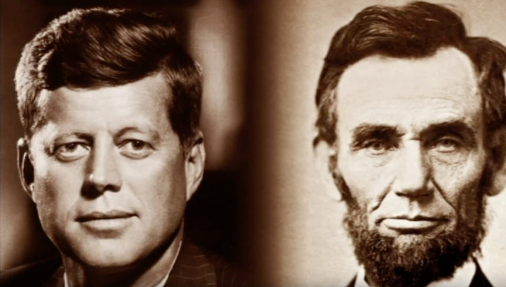 John F Kennedy and Abraham Lincoln Kennedys