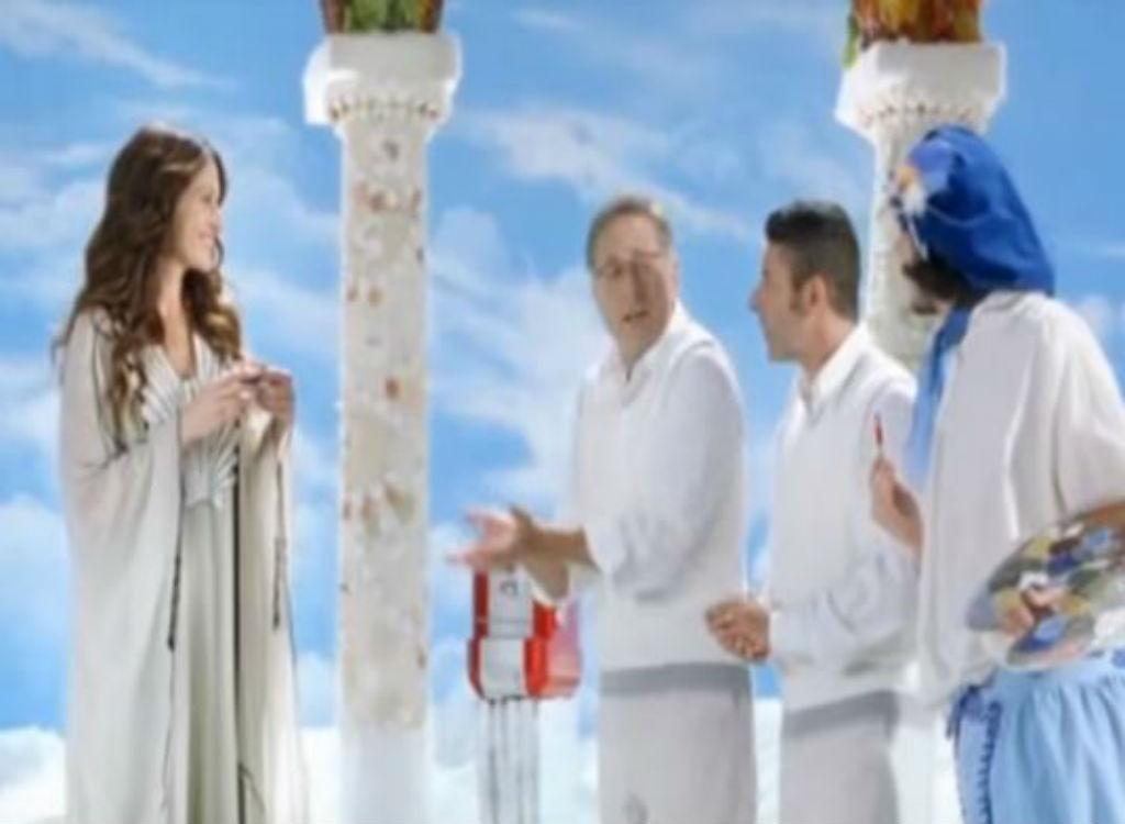 Julia Roberts Lavazza celebrity endorsements