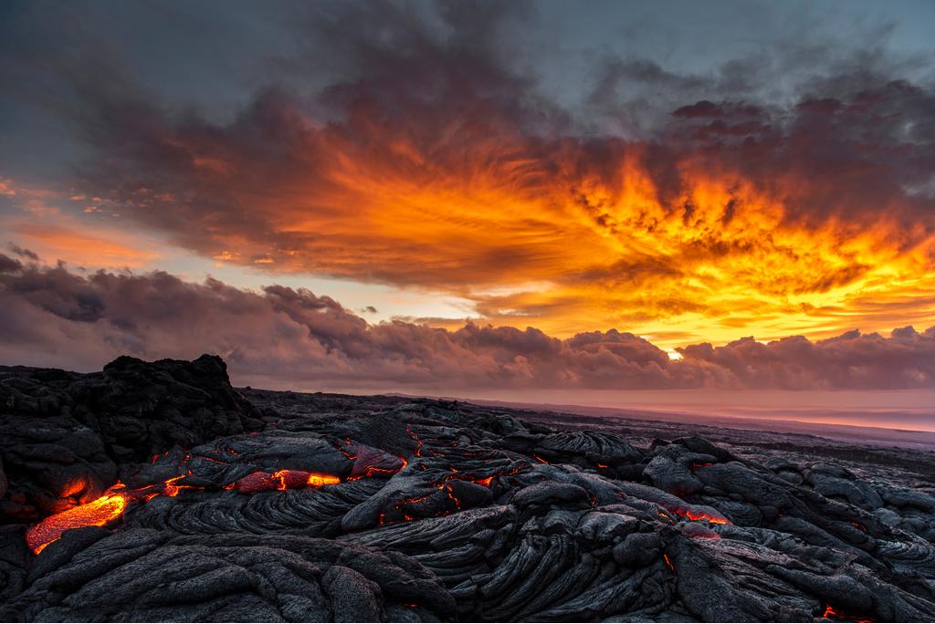 Kilauea Volcano Hawaii Planet Earth Facts