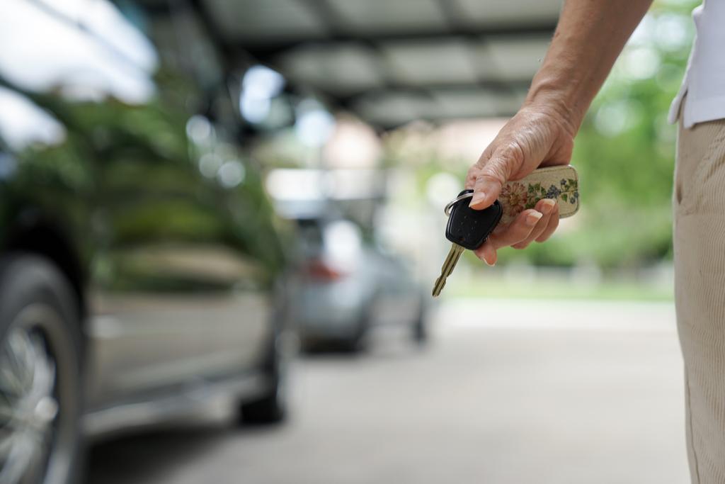 Man with Car Keys in Hand Summer Fair