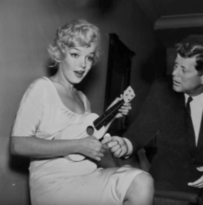 Marilyn Monroe and John F Kennedy Kennedys Craziest U.S. Presidents