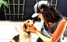 Meghan Markle and Dog