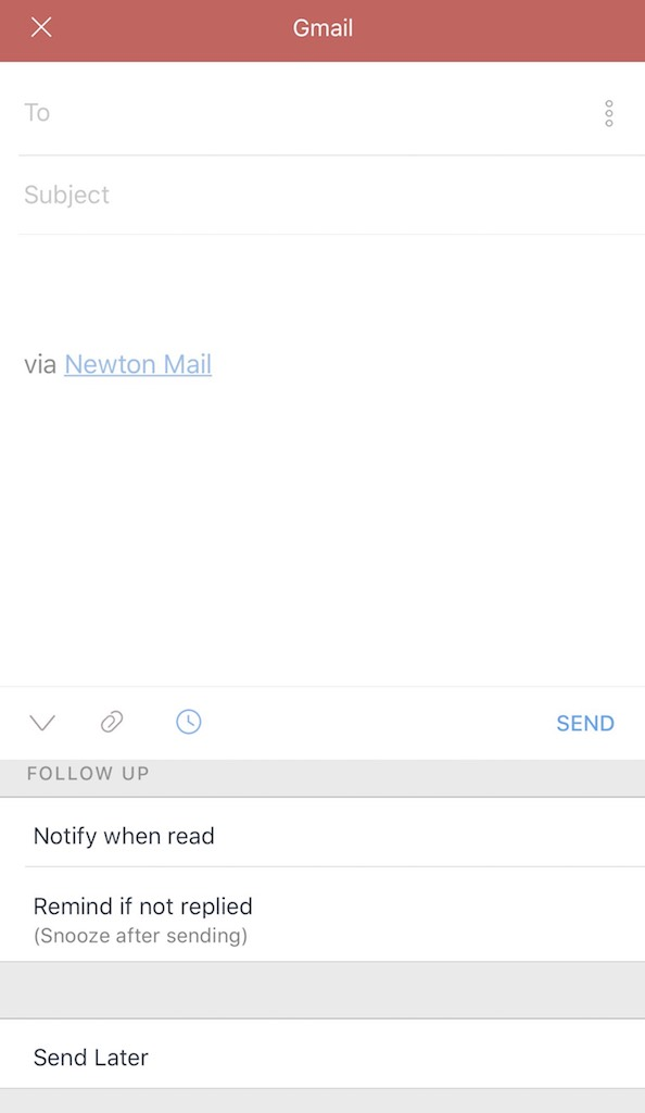Newton Mail Apps organizer apps