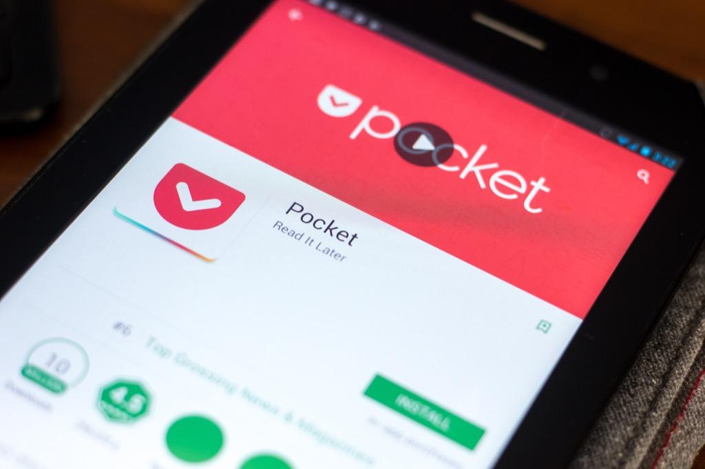 Pocket Apps organizer apps