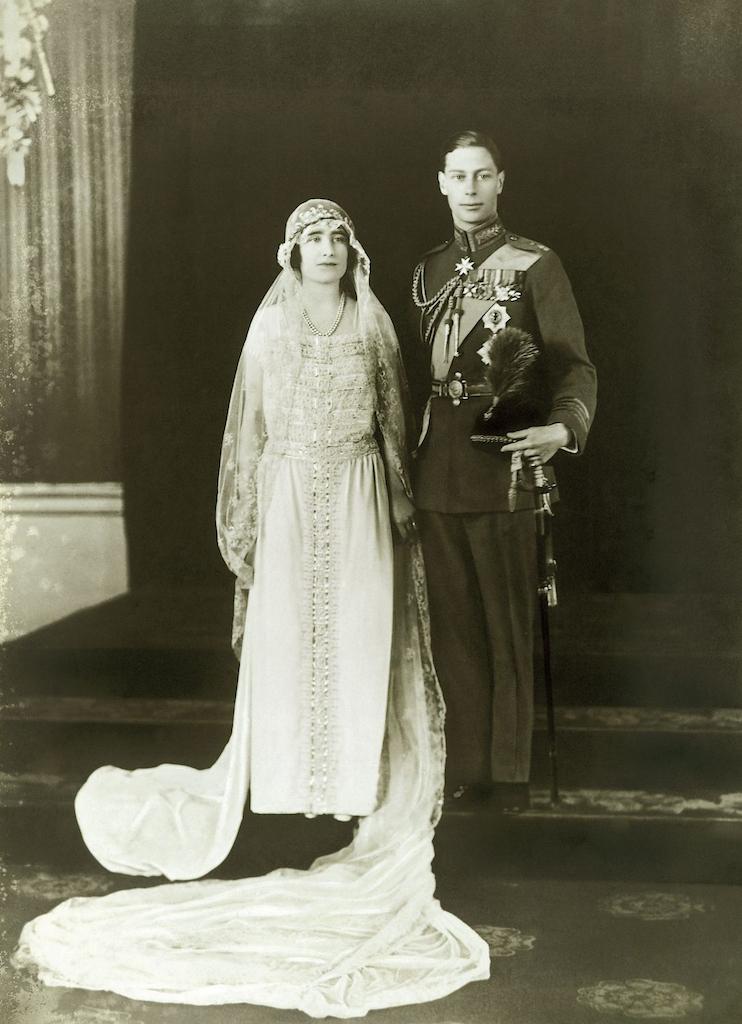 Prince Albert and Lady Elizabeth Bowes-Lyon Royal Weddings