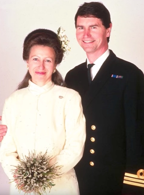 Princess Anne and Timothy Laurence Wedding Royal Marriages