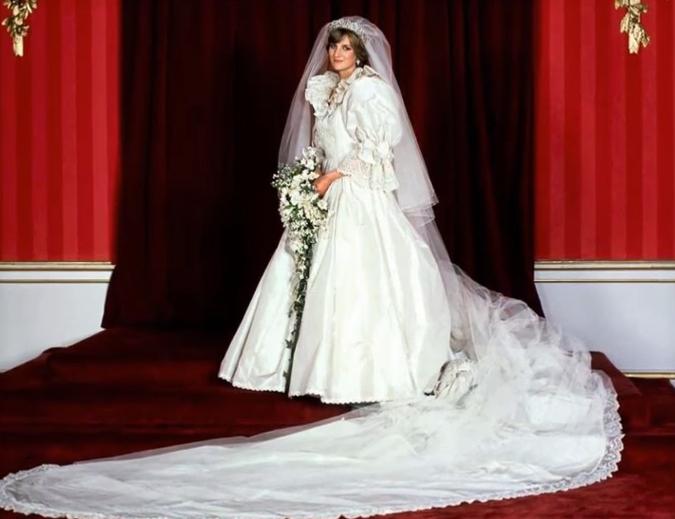 Princess Diana Wedding Dress Royal Marriages