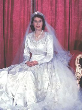 Queen Elizabeth Wedding Dress Royal Marriages