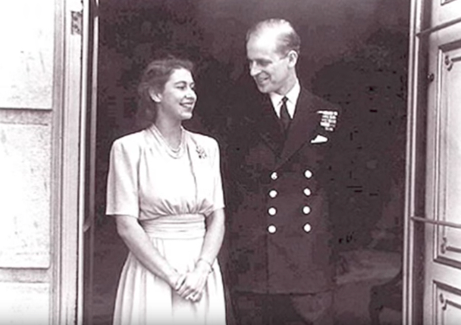Queen Elizabeth and Prince Philip Young Royal Marriages