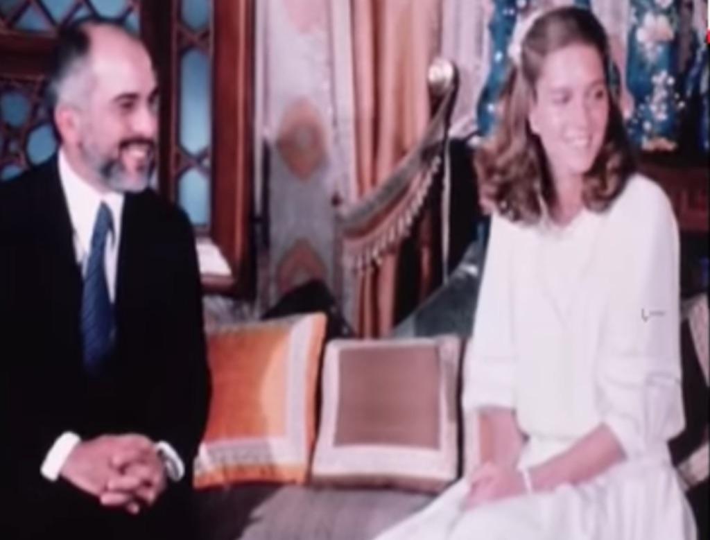 KingHussein of Jorfan and Lisa Najeeb Halby