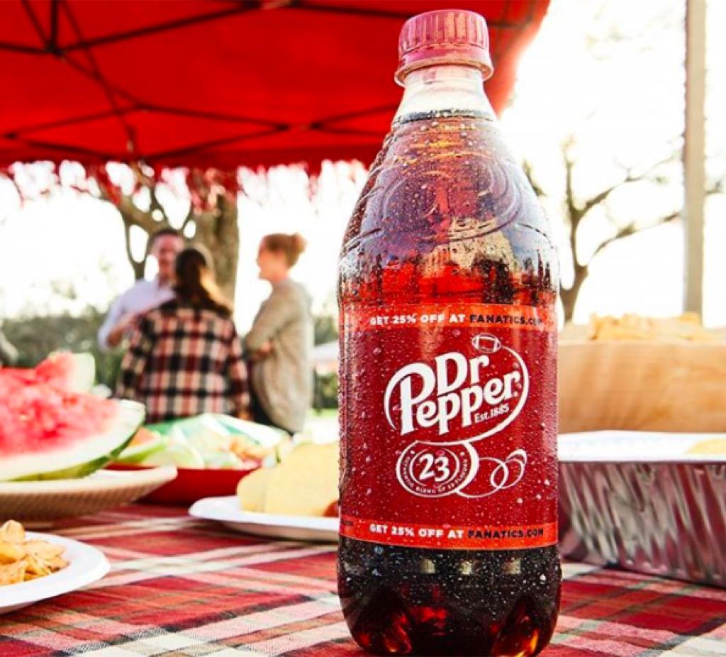Dr. Pepper fairs