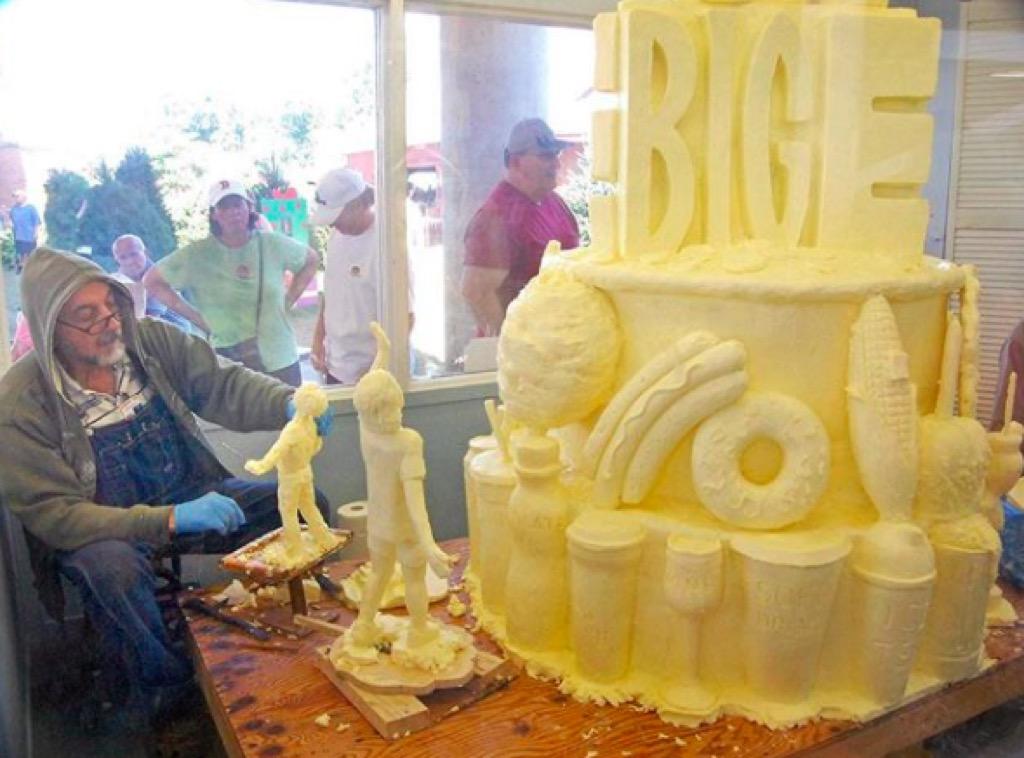 Big E Butter Sculpture fairs