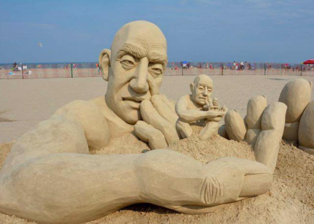 Hampton Sand Sculpture New Hampshire