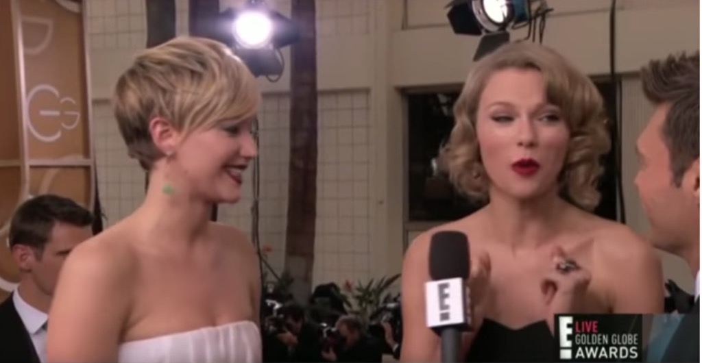 J Law and Taylor Swift
