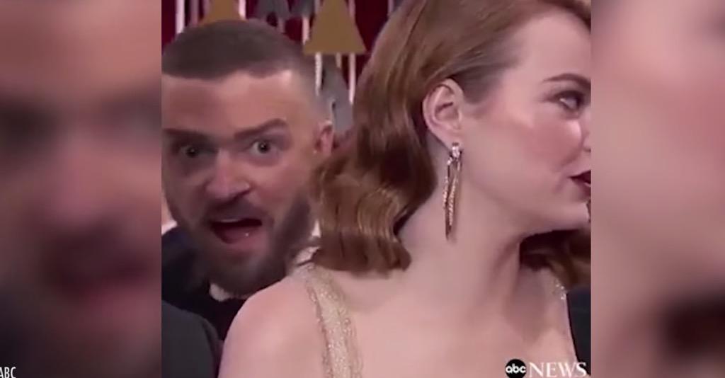 Justin Timberlake and Emma Stone