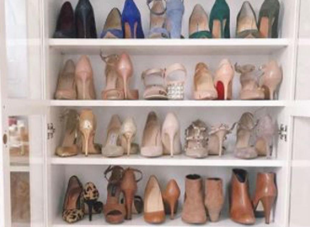 Closet tips shoe storage