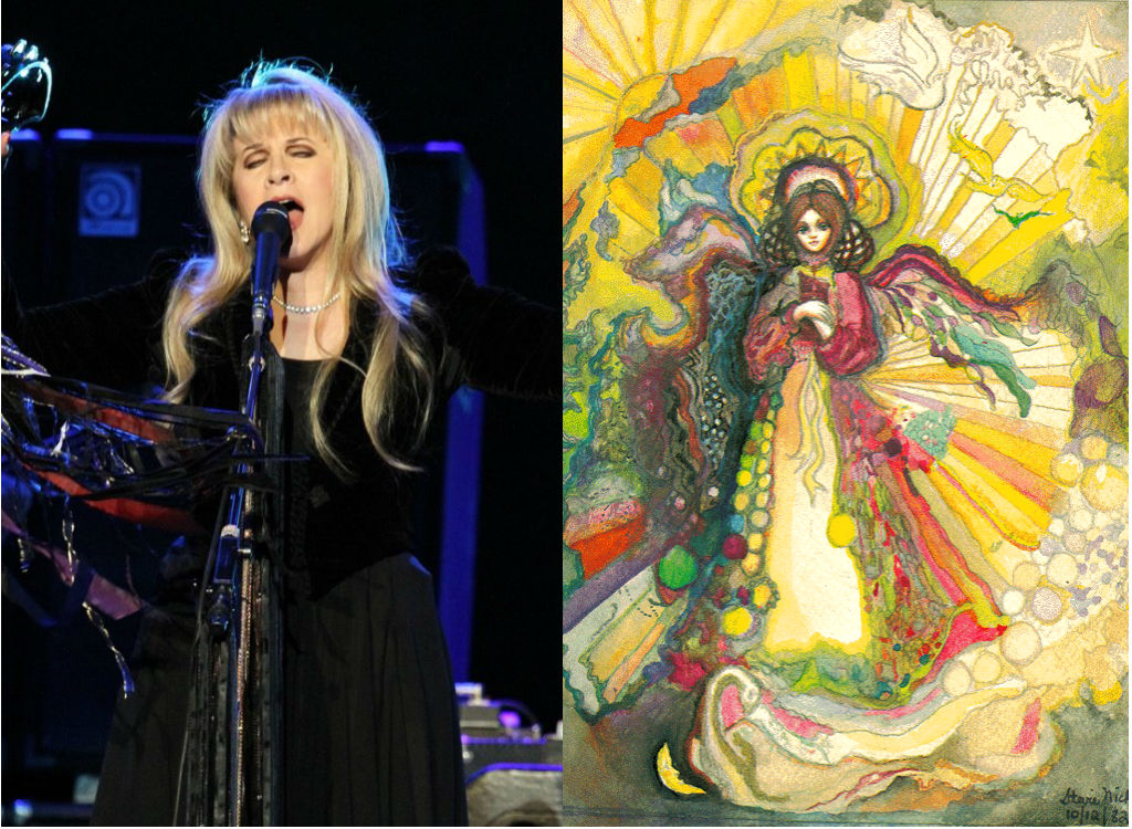 Stevie Nicks painting