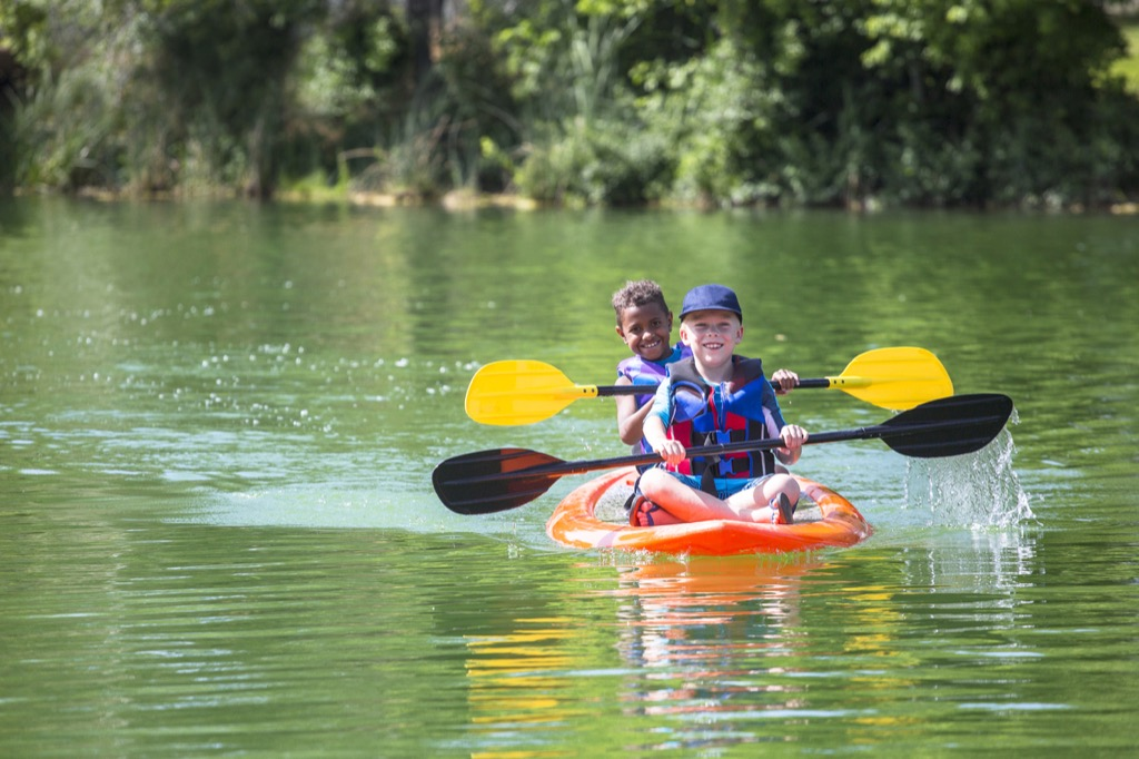 Kids at camp summer camp lessons American Summer Traditions