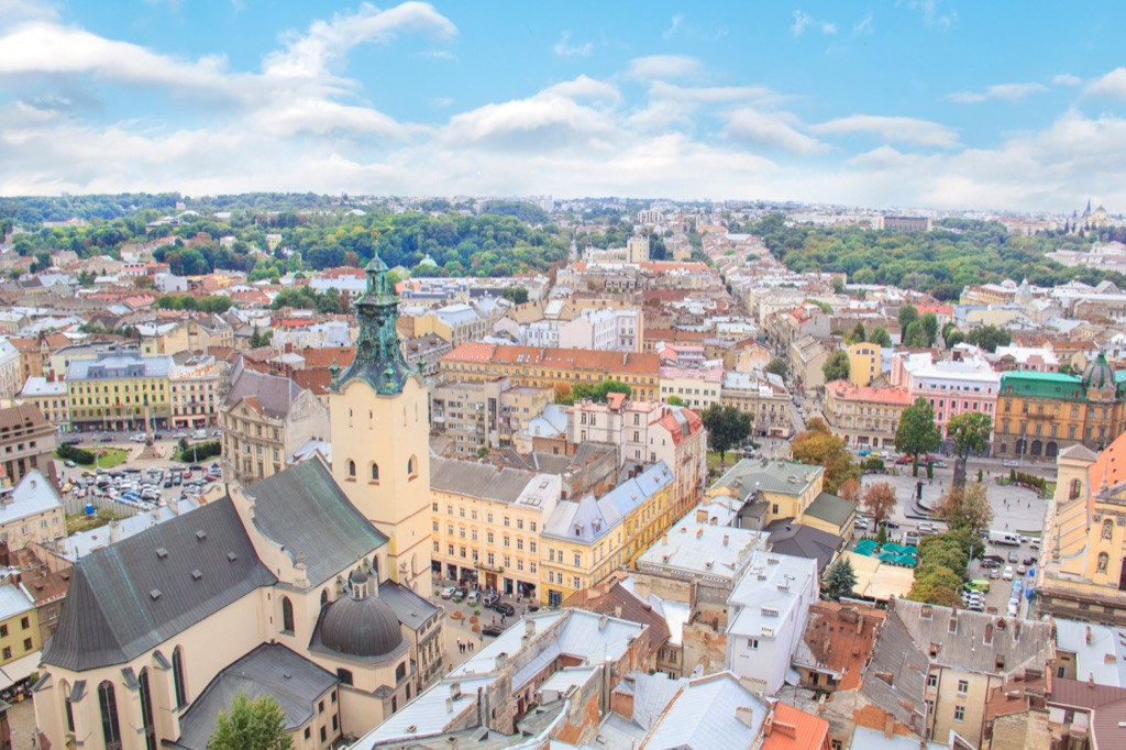 Ukraine city countries without clean water
