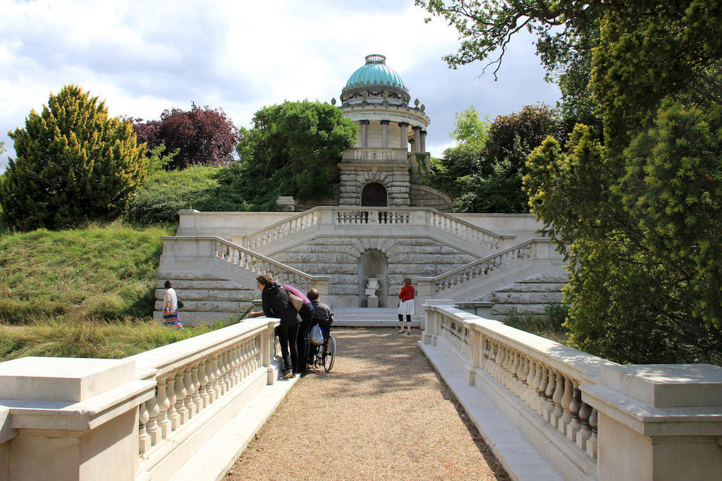 Visitors at Frogmore House