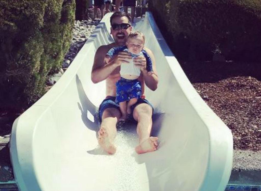 Water slide Action Park