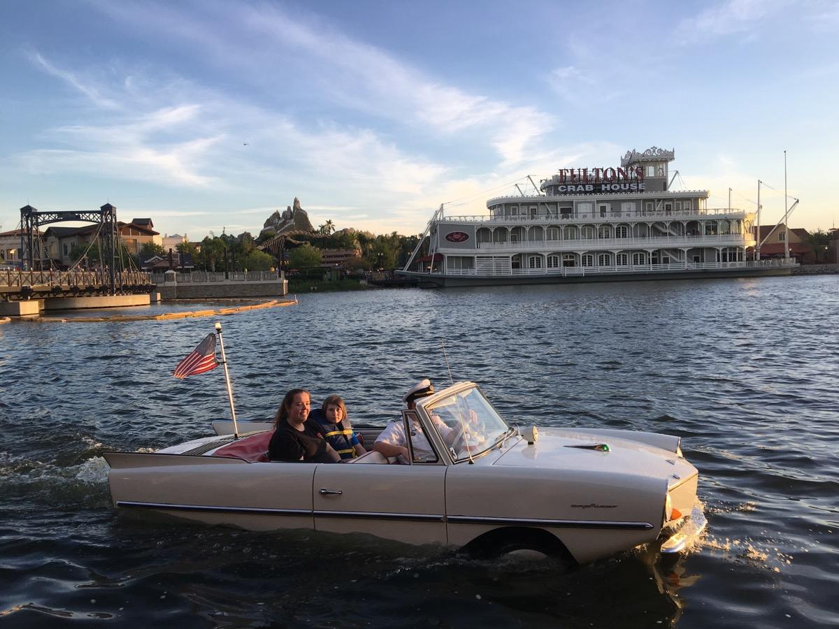 aquatic car