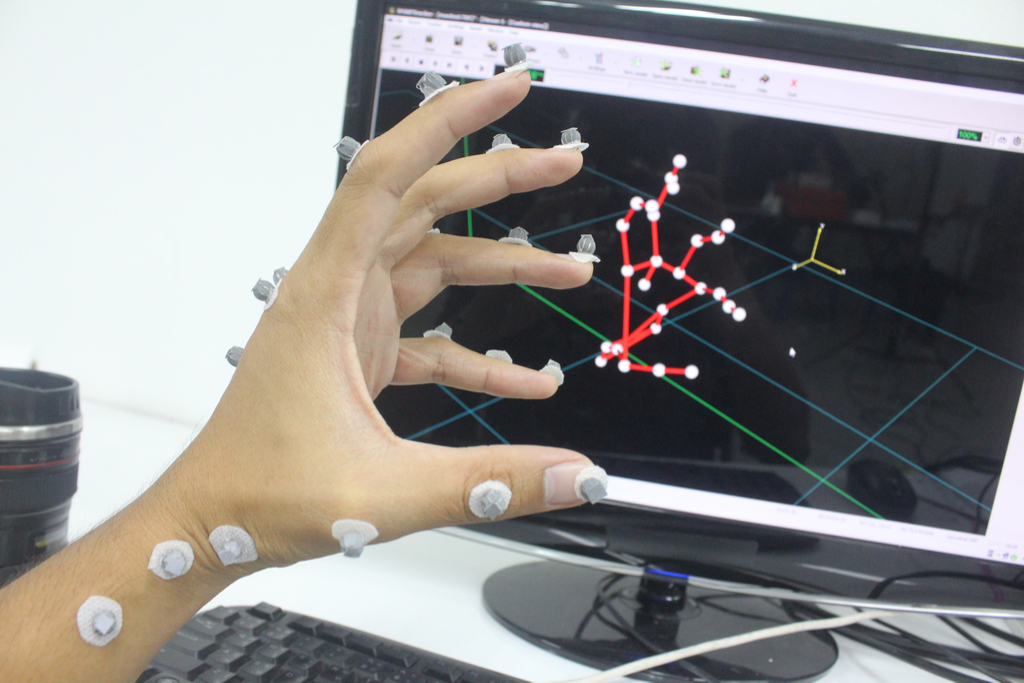 Biomechanical Hand Scientific Discoveries