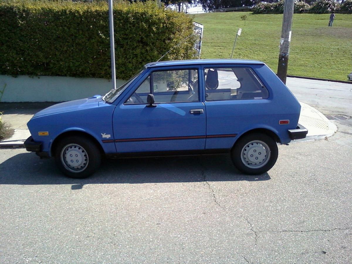 blue yugo 1985
