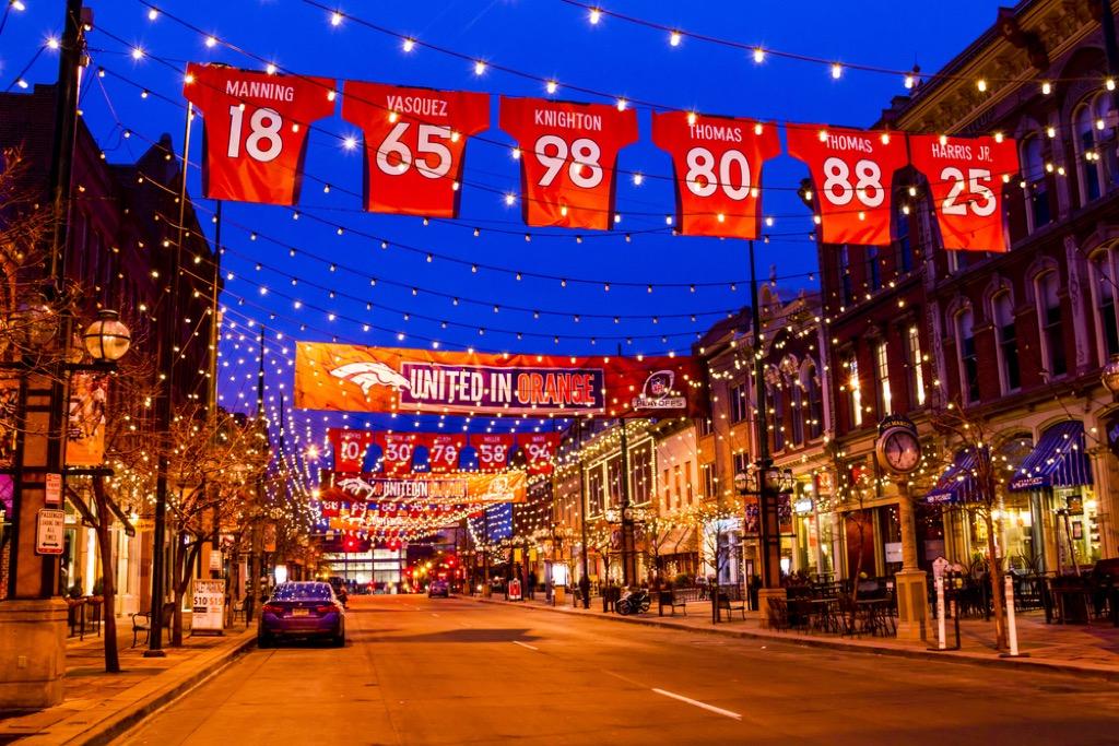 Denver Broncos jerseys