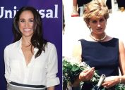 diana and Meghan wedding Differences