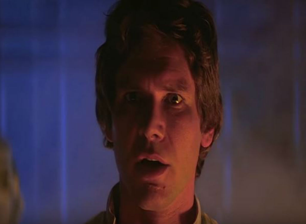 The Empire Strikes Back improvised movie lines