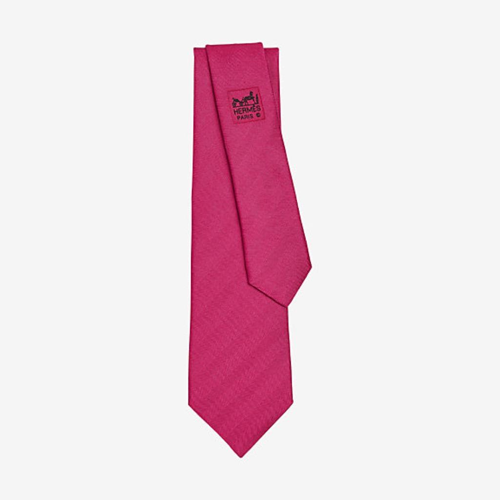 hermes Chevron tie